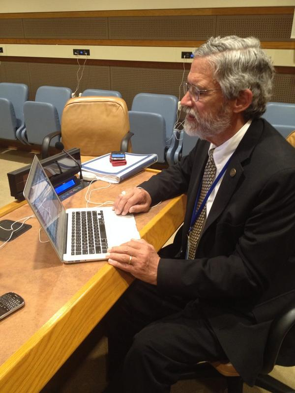 Thumbnail for Dr. John Holdren Joins an #UpChat on Climate Change at #UNGA2014