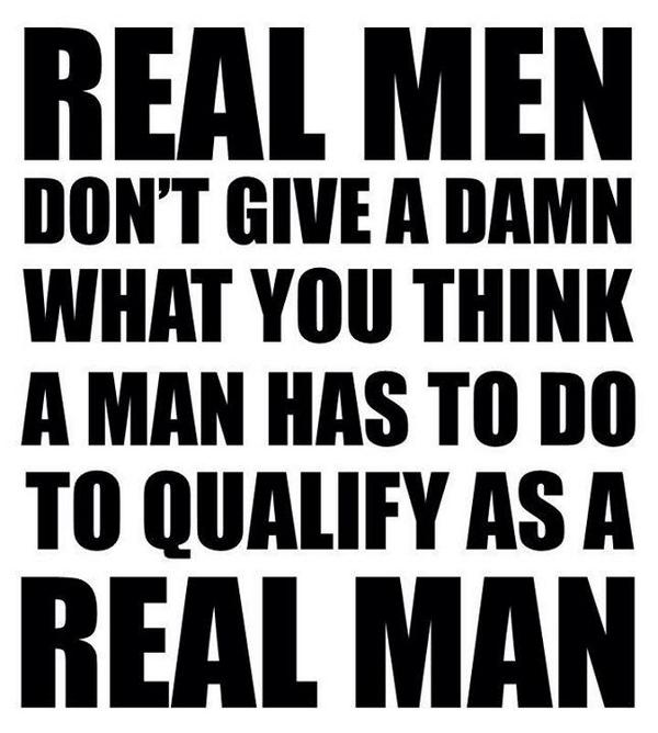 thoughts of a real man