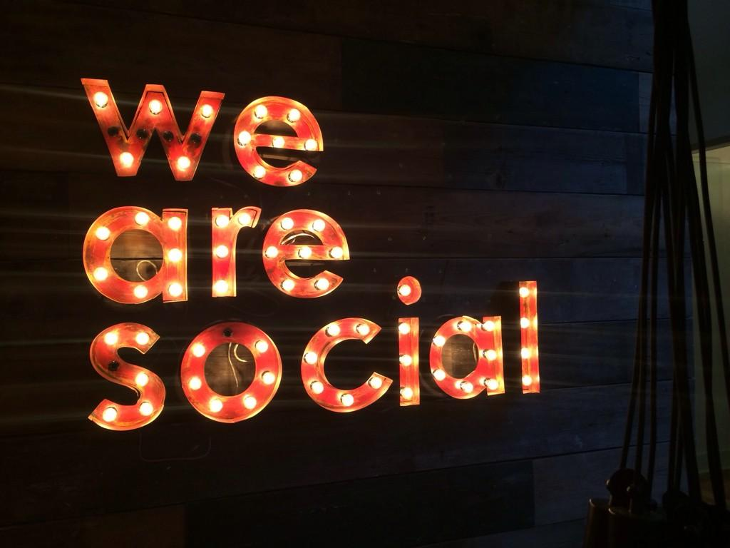 RT @melbatoastmarie: In love w the new @wearesocial NYC office! Decor coming together so beautifully 👌 http://t.co/BPhXubCy54
