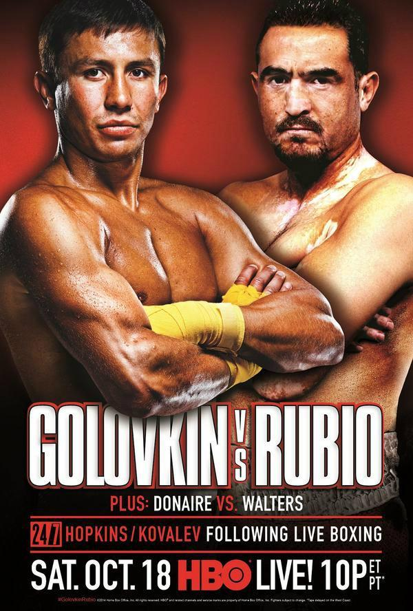 Donaire vs Arce Fight poster and HBO preview video  Bad