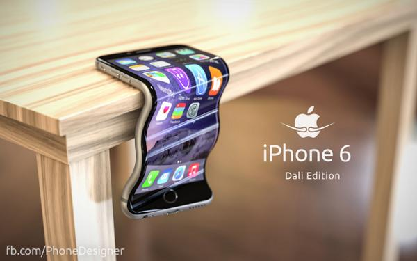 Even better than the original. RT @phonedesigner: #bendgate LEAKED: new iPhone Dali Edition! http://t.co/asacx9XMuv