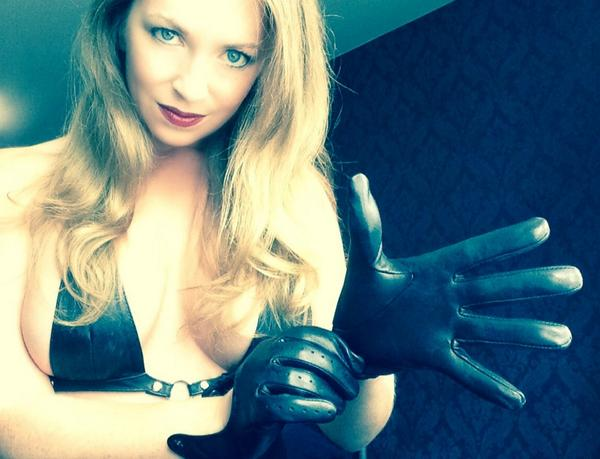 Thanks Mistress t leather gloves for the