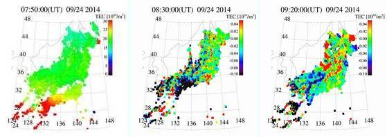 Tec リアルタイム 地震
