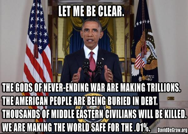 Obama finally speaks the truth on #Syria #ISIS http://t.co/jJHpdq5XLG
