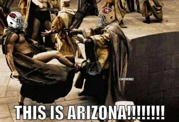 Nfl Memes On Twitter Review Of The Arizona Cardinals San Francisco