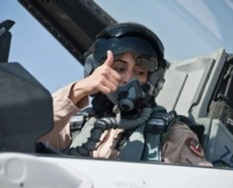 Saudi prince and Emirate's first female fighter pilot take part in Syria air strikes