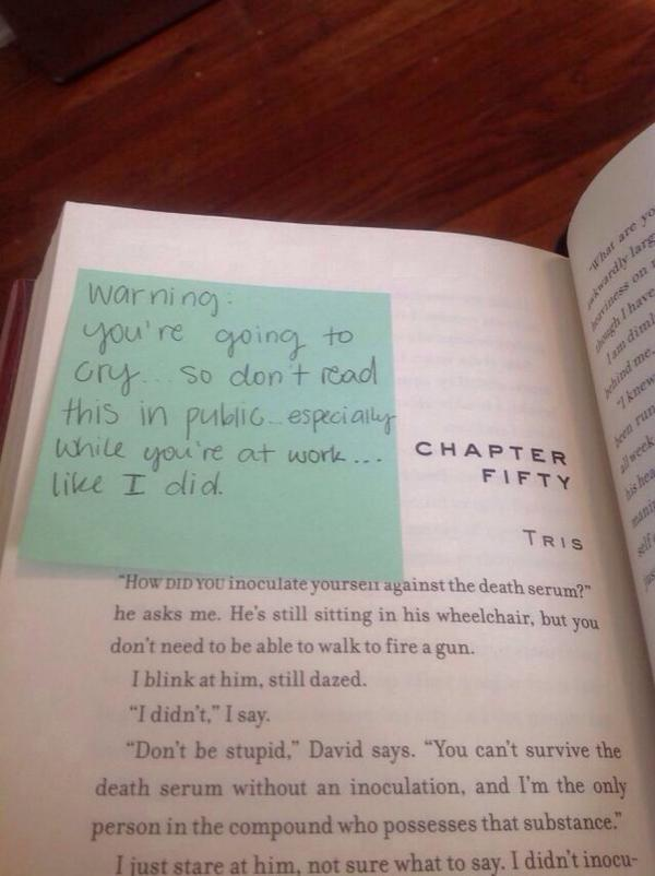 Another reason to buy used books: Finding a kind heads-up from a stranger.  (Found via: http://t.co/i2lwjP4h1E) http://t.co/y3foIvIEU6