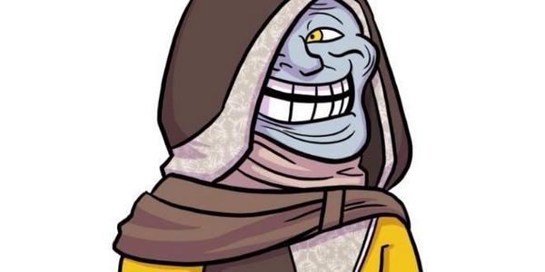 The Cryptarch's face after he screws you out of a legendary Emgram. #Destiny #TPwn #PS4 #Xbox #XB1 http://t.co/4HTlrBXkGV