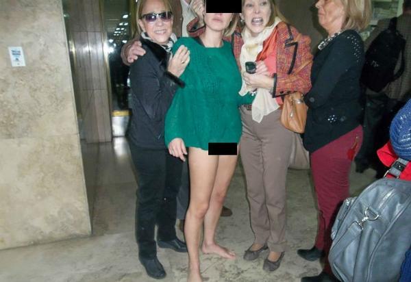 Exhiben foto de funcionaria desnuda - ProgresoHoy