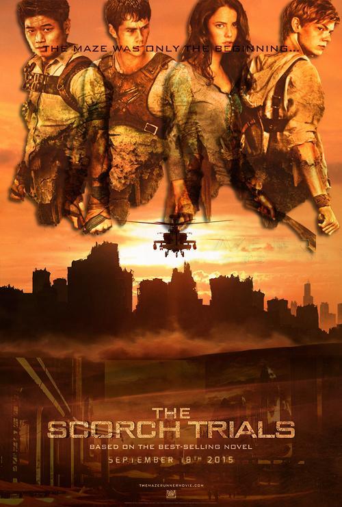 Maze Runner The Scorch Trials Poster