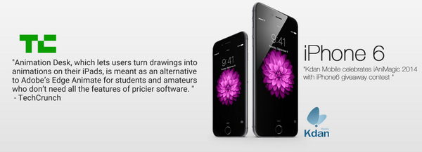 We're (@KdanMobile) giving away #iPhone6 http://t.co/UecxJPZZus to celebrate #iAniMagic2014  *ad