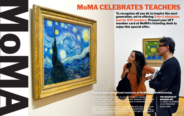 Moma The Museum Of Modern Art On Twitter Nyc Public