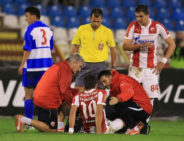 Avramovski went down again with injury