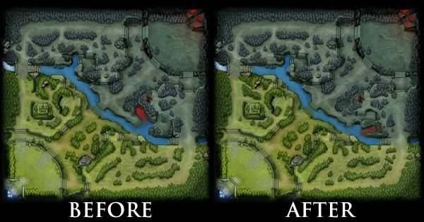 captain eul on twitter dota 2 mini maps spot the difference