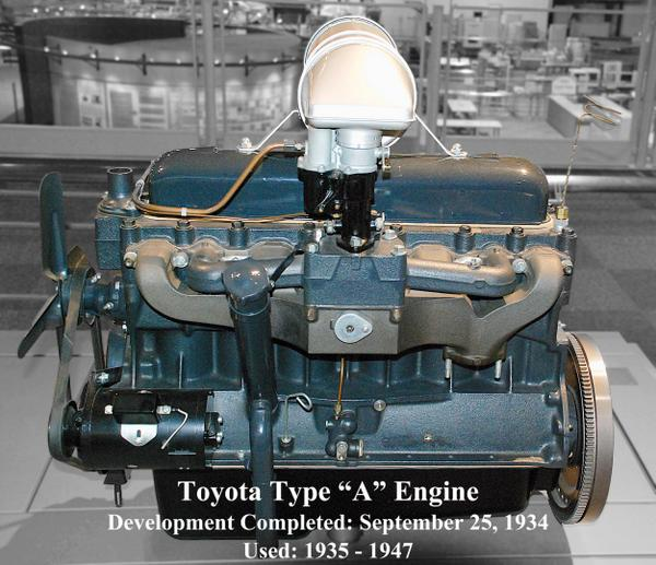 Toyota motor corp on twitter first toyota engine the for Toyota motor corporation address
