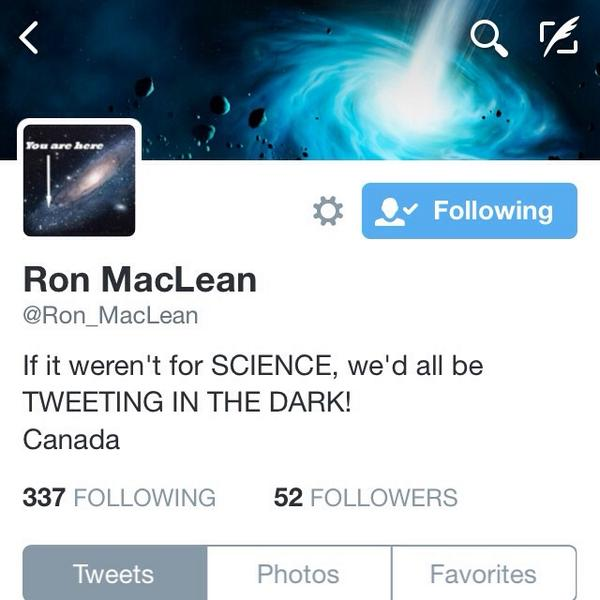 Love this bio by @Ron_MacLean #scichat #mbedchat #ndedchat #cdnedchat http://t.co/wcXSbdVjqi