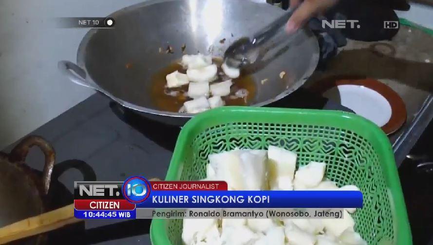 Net Cj On Twitter Kuliner Singkong Kopi Di Wonosobo Jateng