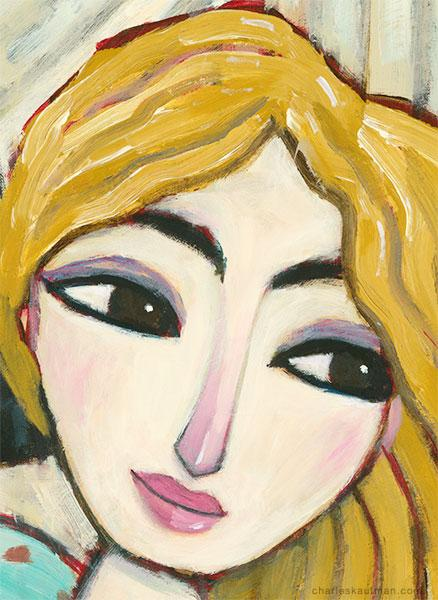 """Figurative Art and Paintings"""". Any Coffee Left?"""" http://t.co/FKsscsVvTm Charles Kaufman Detail from painting: http://t.co/rzMkYdcwWp"""