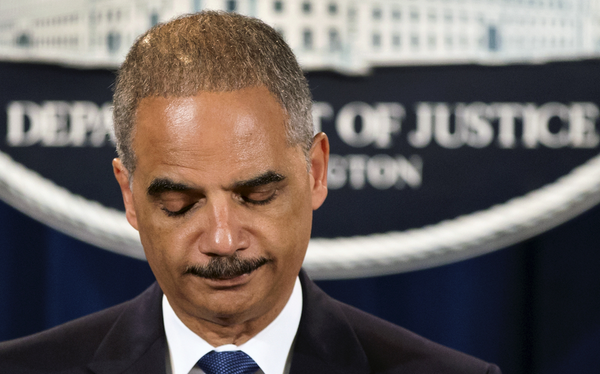 The most hilarious thing will be when Eric Holder gets hired to be a pundit on cable news. http://t.co/HWuE8sY95m http://t.co/YNLtJiatDh