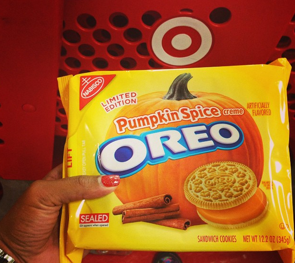 #TargetRun reminder: Don't forget to grab #pumpkin flavored @Oreo's. MT @1angelamoore: Oreo game is on! #oreo @Target http://t.co/jC5phWOuJq