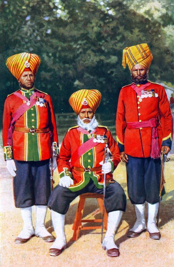 @rwac48 @manupubby @ShivAroor @samarjeet_n @rvasisht @whirlybirdguy @ParamjitGarewal Indian soldiers c.1905 https://t.co/IbPCYPbz2l