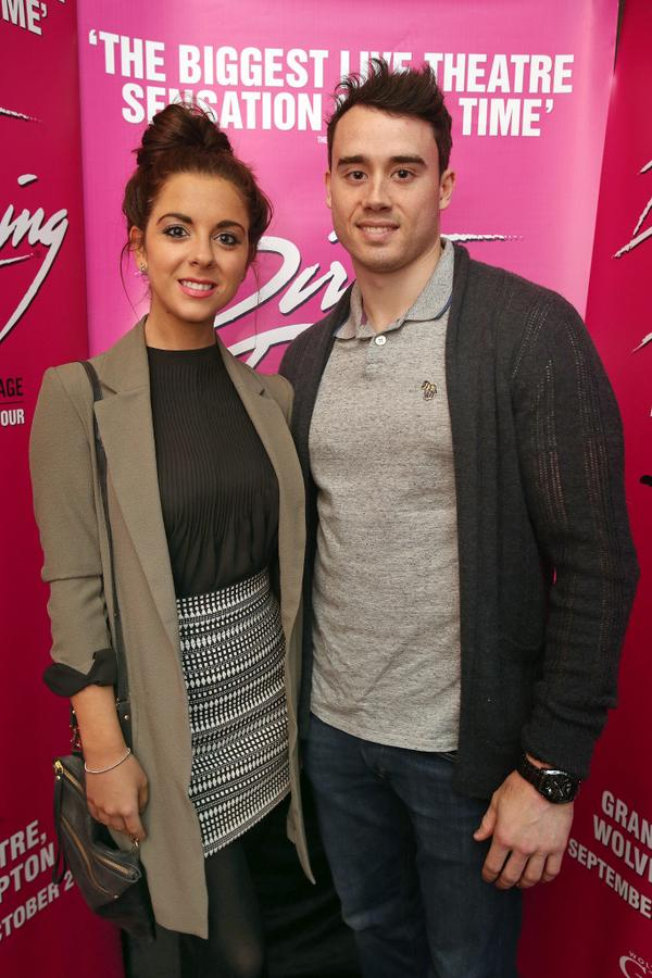 Kristian Thomas and gemma reid