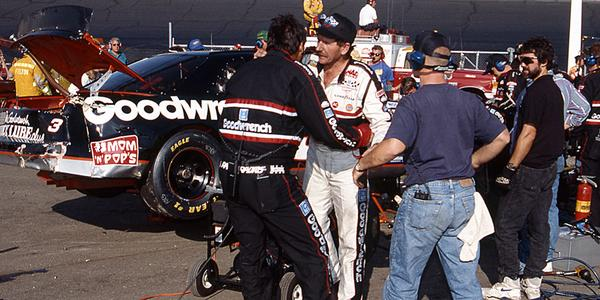 Tbt chocolatemyers3 holds dale earnhardt back after a for Dale s motor co san antonio tx
