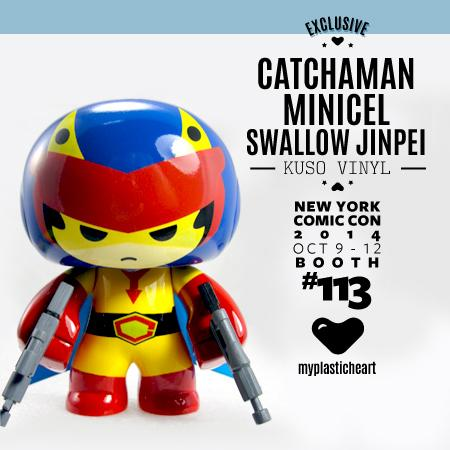 #NYCC2014 MPH Exclusive - Catchaman Minicel Swallow Jinpei http://t.co/lZEd7qopwu @NY_Comic_Con @kusovinyl #gatchaman http://t.co/k7KPc9Mzlf