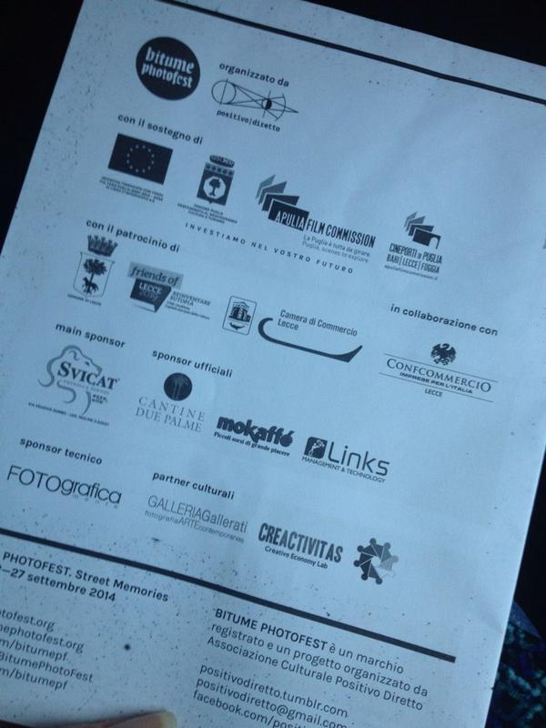 Il team di Creactivitas è arrivato a #Lecce per #Bitumepf domani il nostro workshop @BitumePhotoFest http://t.co/UTYXGQm6Lc