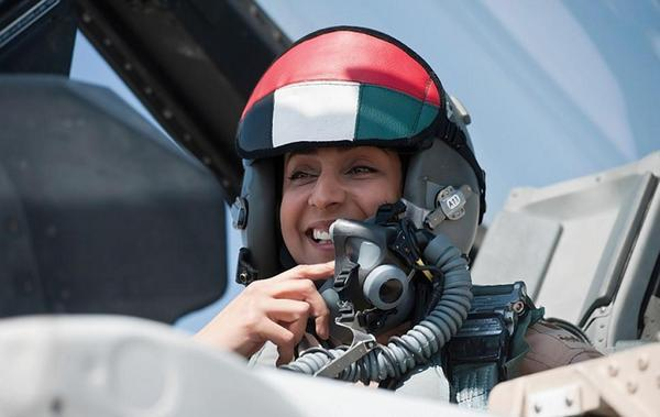 United Arab Emirate Female fighter pilot taking the fight to ISIS.
