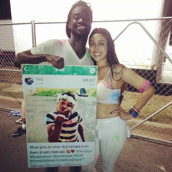 @FloridaEDMFam hella ppl loved my poster btw