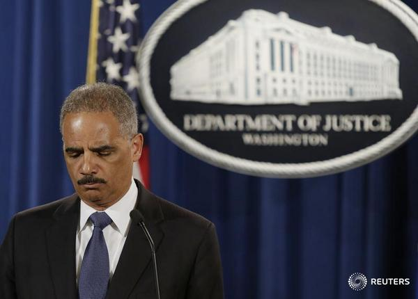 After a contentious term, Attorney General Eric Holder is stepping down: http://t.co/WIkEr5jplf http://t.co/A3vRlTeuJu