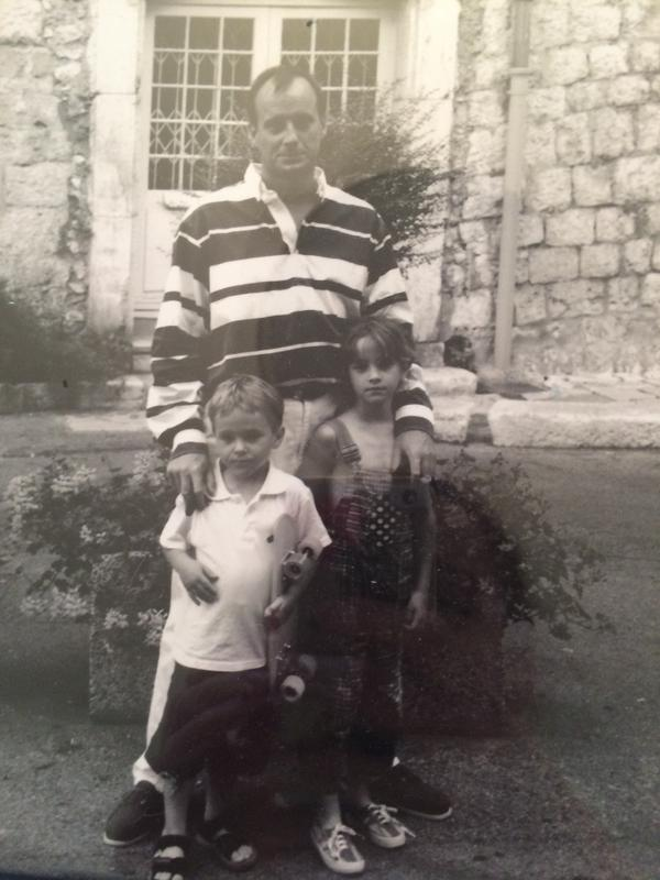 Daddy, Alex and Emma Watson. 'Two of my  #HeforShe 's'. http://t.co/fWPFG7G917