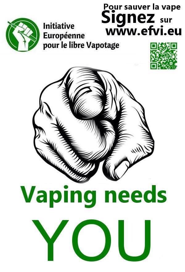 ALaCigElectron Il s'agit d'entrer en résistance pr sauver la Vape. Signons  l'EFVI http://www.efvi.eu/ @ElvaPotepic.twitter.com/jcKMBAn5Bo