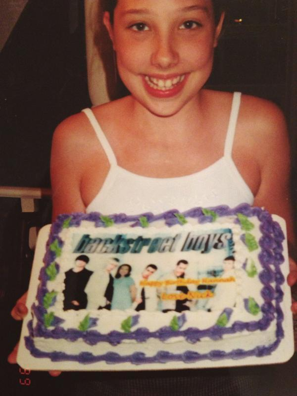 Backstreet Boys Auf Twitter BSBTBT To Our Girl Hannahbelle Youll Always Be ShiningStar We Love This Cake Tco G8FTuJe5Z1
