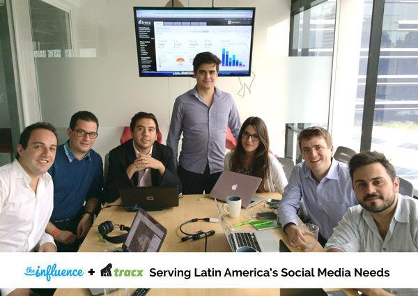 Tracx expands into Latin America through collaboration with The Influence. http://t.co/1e0bsy0b0o http://t.co/MpSTTkG9h7