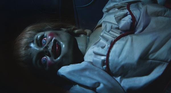 RT if you think #ANNABELLE is scary as hell. #NowPlaying http://t.co/d2VKsHYrsz
