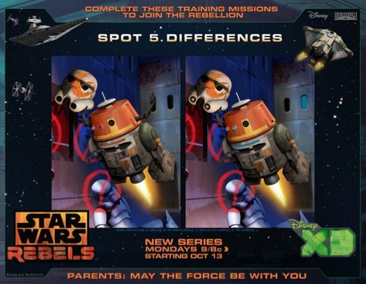 Star Wars Rebels Activities, #StarWarsRebels