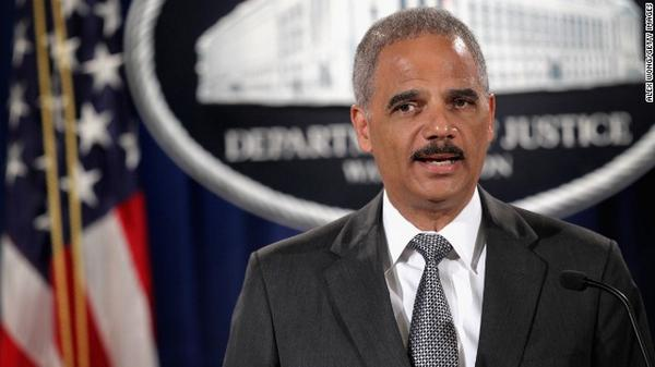 President announces resignation of Eric Holder, thanking the AG for his service. http://t.co/1cqhULbsJg http://t.co/3hukroRwjZ
