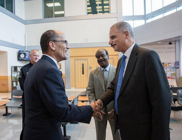 The nation is stronger b/c of my friend, Eric Holder's, lifetime of work on behalf of justice and equal opportunity. http://t.co/mrBwGjBGoF