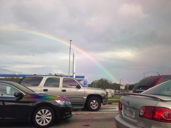 Rainbows in West Orlando @spann @tomsorrells #valenciawest http://t.co/5gqw6Tw1K6