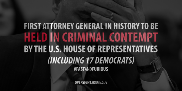 Attorney General Eric Holder failed to uphold the values of our Constitution. Retweet if you agree. http://t.co/9TEOpCeriq