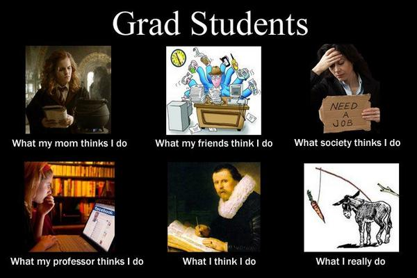 Grad school essay quotes about life