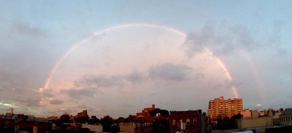 @patkiernan @NY1weather another beautiful rainbow over Brooklyn from Gowanus! #nyc #rainbow #brooklyn http://t.co/XBYZbkhFoF