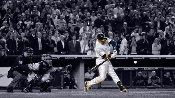 Of course.  Derek Jeter says goodbye to Yankee Stadium with a walk-off winner! Farewell, Captain! http://t.co/uX5S8L3ZLT