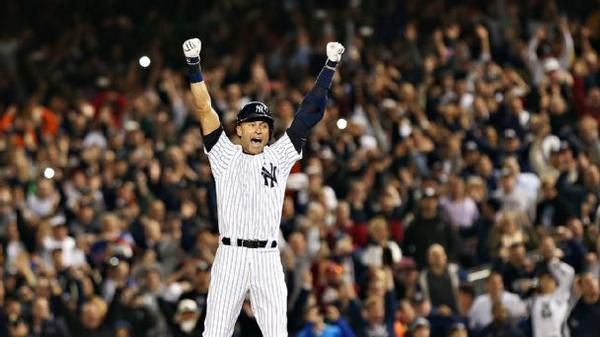 Right out of a Hollywood script, Derek Jeter's walk-off single ended his Bronx run in style http://t.co/j8fq8JhZe8 http://t.co/xyGxQMuqm8