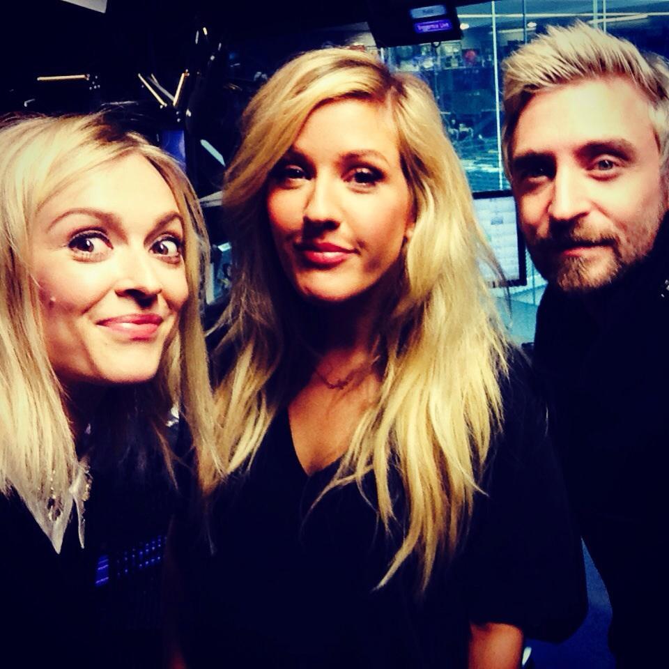 Blondes 😜 #R1DJfresh and Ellie today! http://t.co/Dzir8Bu28m