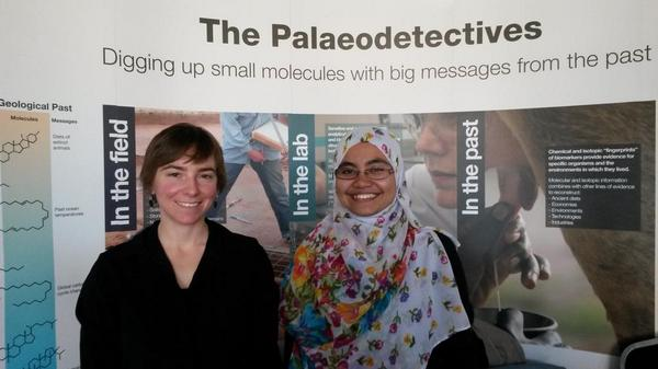 """Mireia on Twitter: """"Paleodetectives ready to uncover the past at @AtBristol #BristolBrightNight @cpe_bristol http://t.co/KoDjvlwCOS"""""""