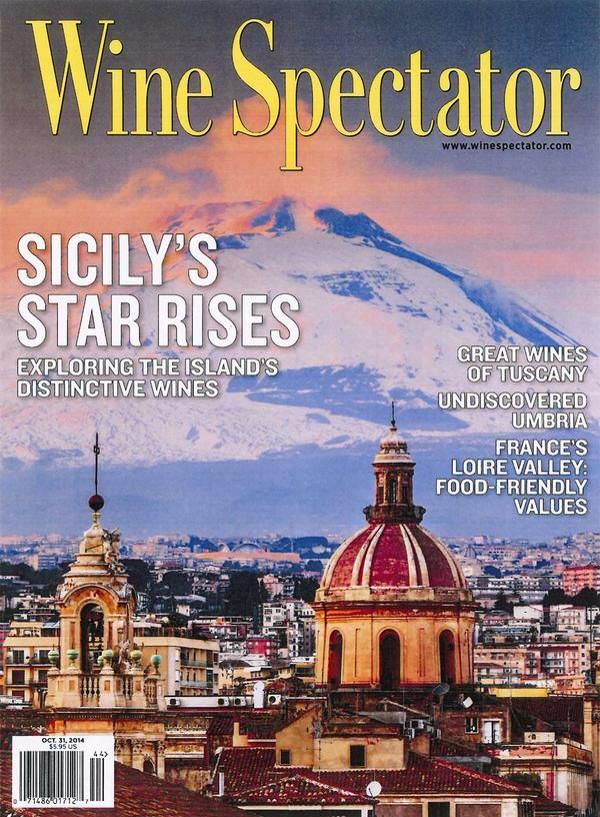 """Sicily's star rises"", #sicilianwine on the cover of @WineSpectator. We cannot wait to grab a copy!  via @sicilyguide"