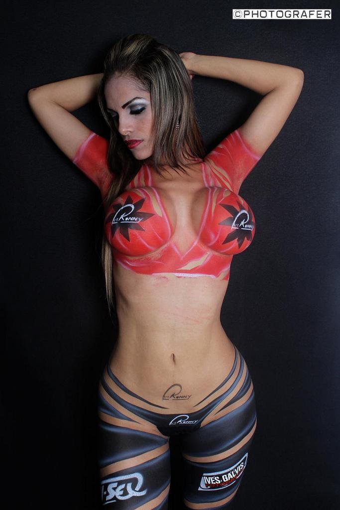 latina body paint